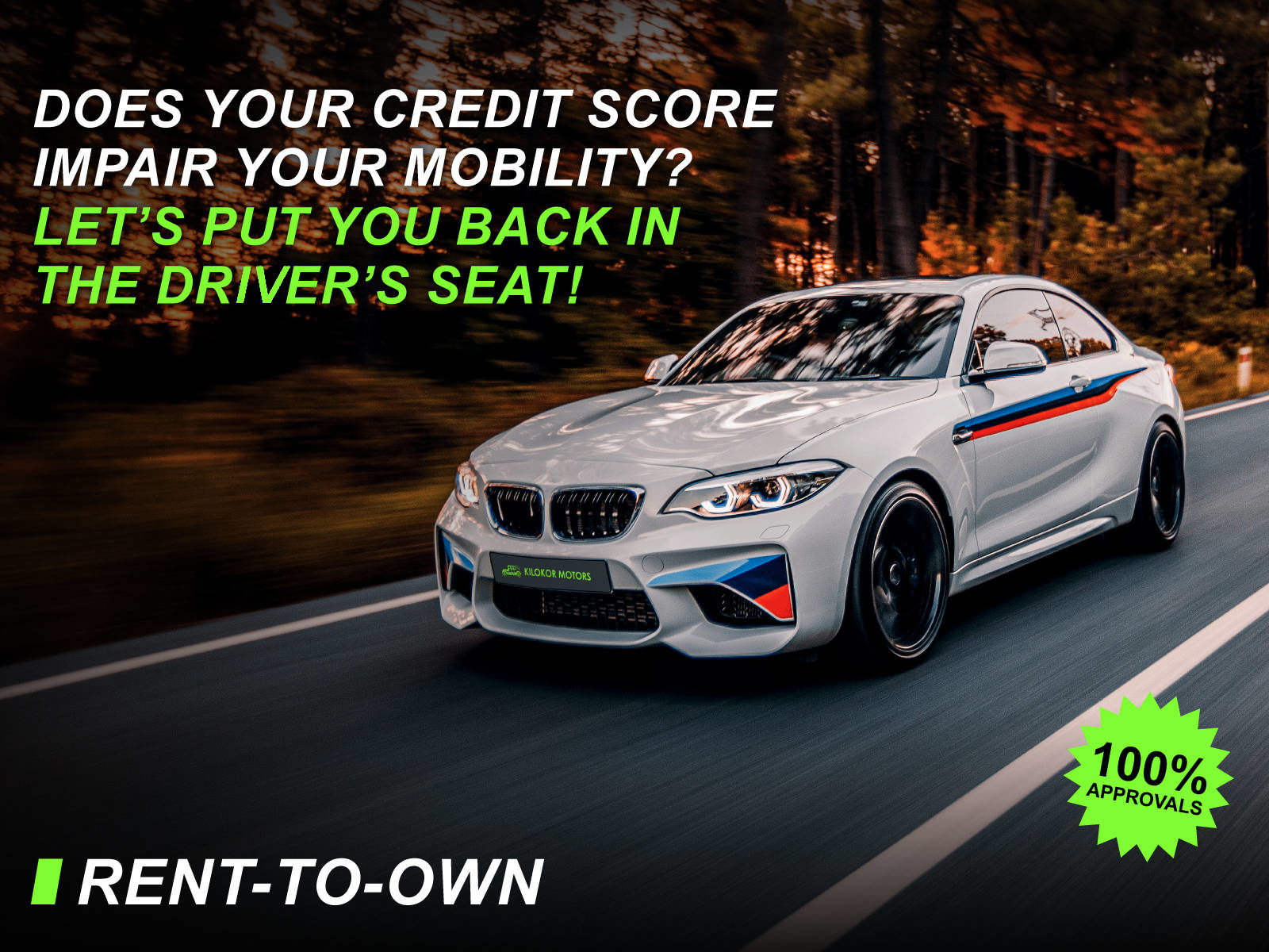 Does you credit score impair your mobility?